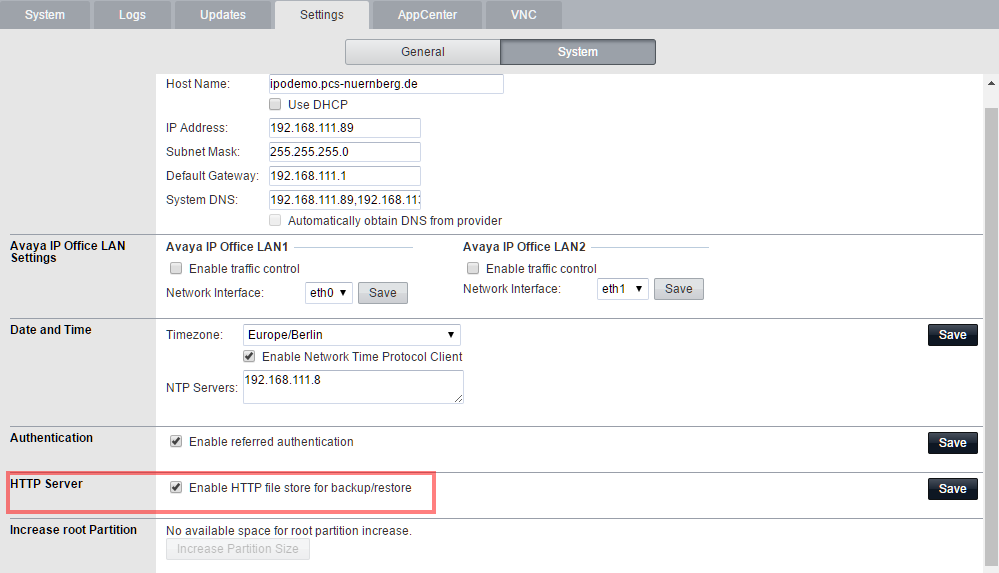How to backup IP Office servers - Blog: Florian Wilke